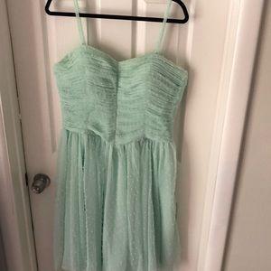 Unique Vintage Mint dress